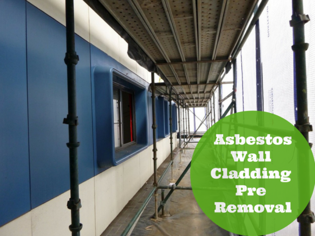 how to take asbestos samples wall
